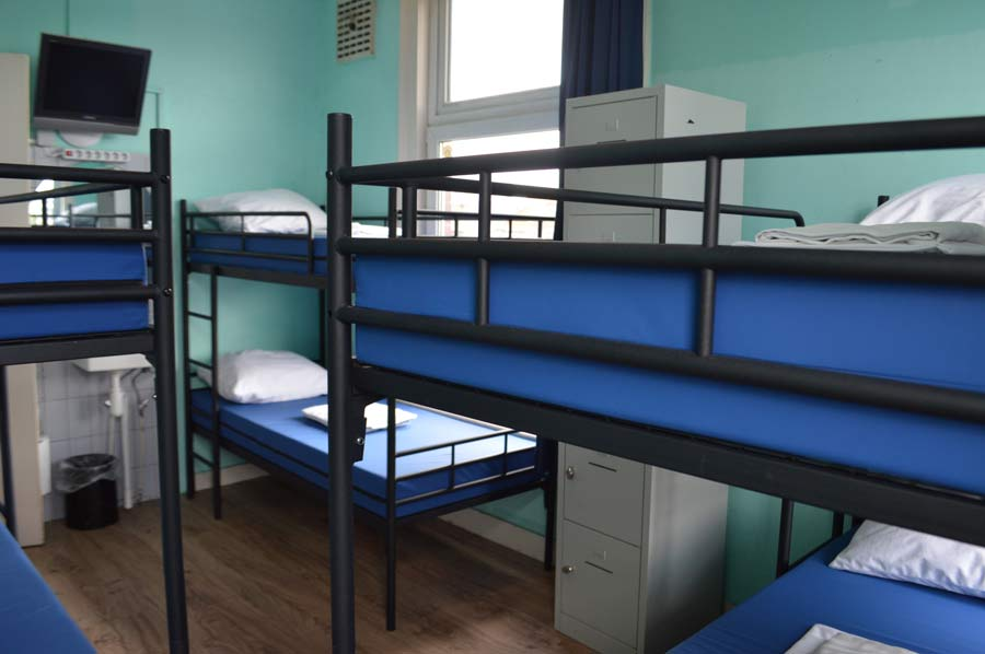 Bed in 6-bed dorm