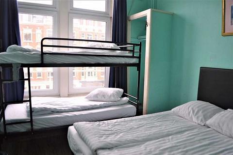 Bed in 4-bed dorm